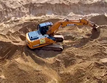 Песок строительный купить